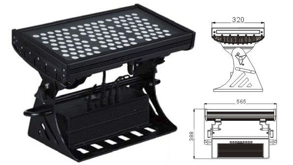 Led dmx işığı,LED daşqın işıqları,500W Square IP65 DMX LED divar yuyucusu 1, LWW-10-108P, KARNAR INTERNATIONAL GROUP LTD