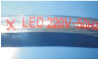 Led dmx işığı,lent kəsdi,110 - 240V AC SMD 5050 LED ROPE LIGHT 11, 2-i-1, KARNAR INTERNATIONAL GROUP LTD