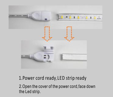 Led dmx işığı,LED şeridi yüngül,240V AC No Tel SMD 5730 LED ROPE LIGHT 5, install_1, KARNAR INTERNATIONAL GROUP LTD