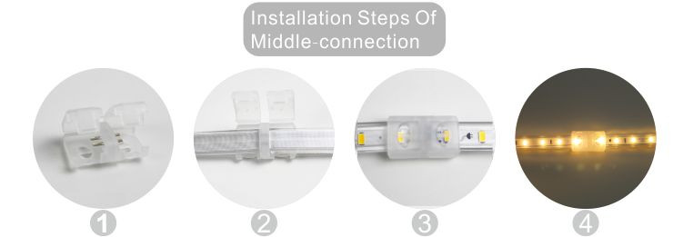 Led dmx işığı,LED şeridi yüngül,240V AC No Tel SMD 5730 LED ROPE LIGHT 10, install_6, KARNAR INTERNATIONAL GROUP LTD